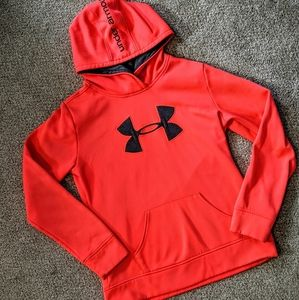 Youth Under Armour Fleece-lined Hooded Sweatshirt